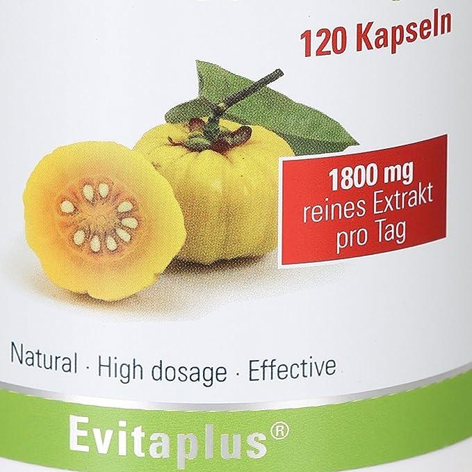 Garcinia cambogia DAILY para complementar una dieta para adelgazar - 120 capsulas - 1.800 mg diario - Producto vegetal: Amazon.es: Salud y cuidado personal