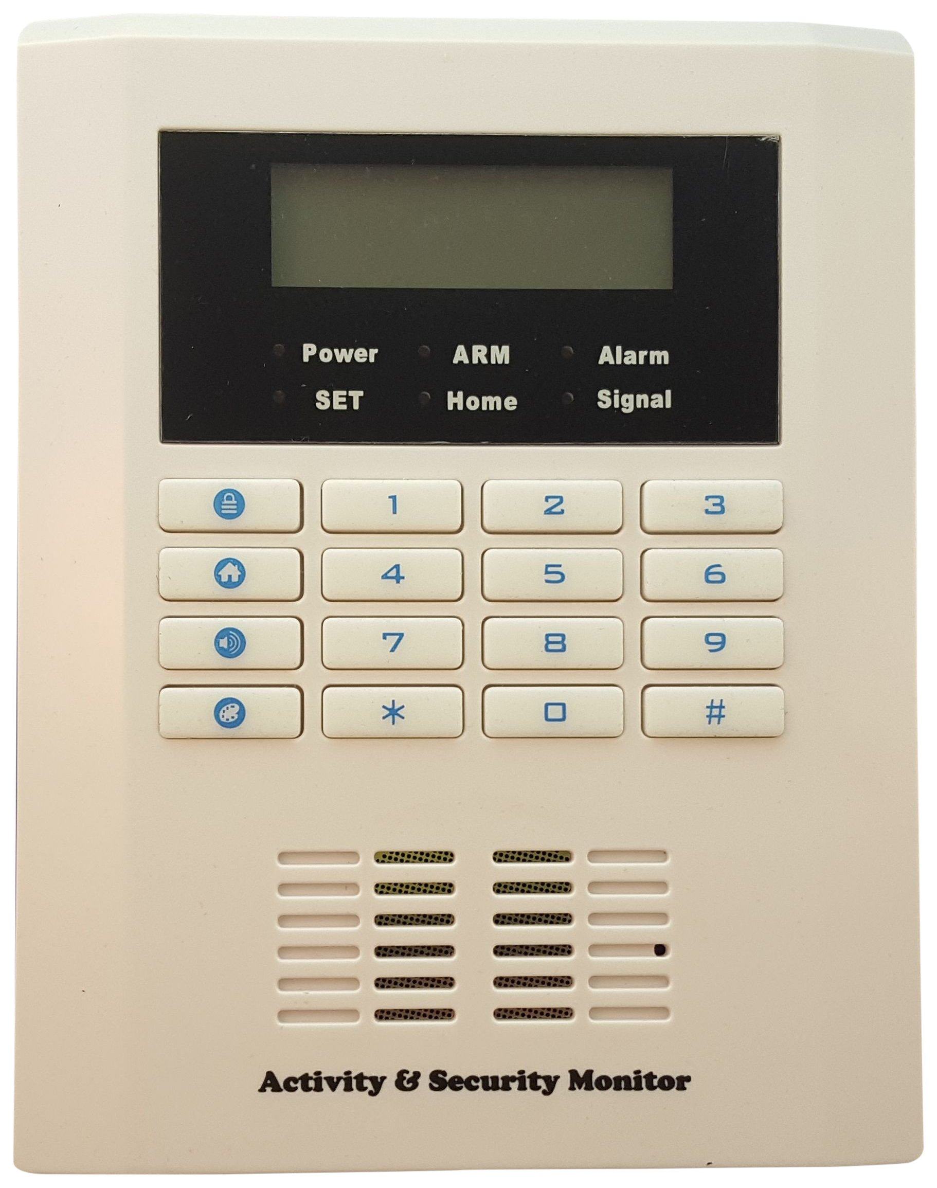 Osun ASM001 Activity and Security Monitor device, 9.5'' x 6.5'' x 4'', White