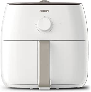 Philips Air Fryer Premium XXL for Fry/Bake/Grill/Roast with Fat Removal and Rapid Air Technology, 1.4kg Capacity, White, HD9630/21