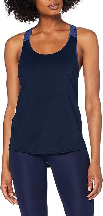 Marca Amazon - AURIQUE Camiseta Deportiva de Doble Capa Mujer: Amazon.es: Ropa y accesorios