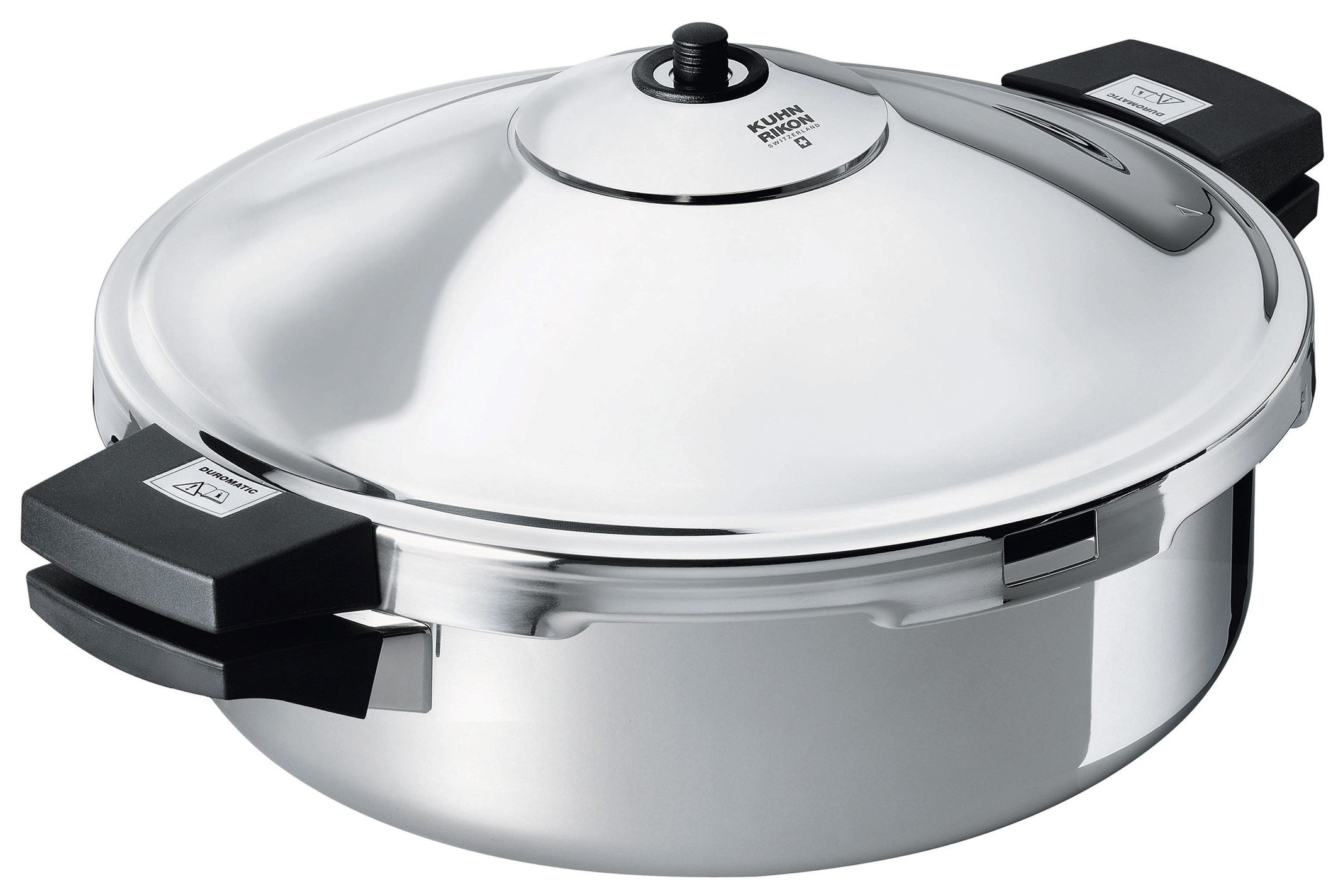 Kuhn Rikon Duromatic Hotel Stainless Steel Frying Pan, 5 Litre / 28 cm