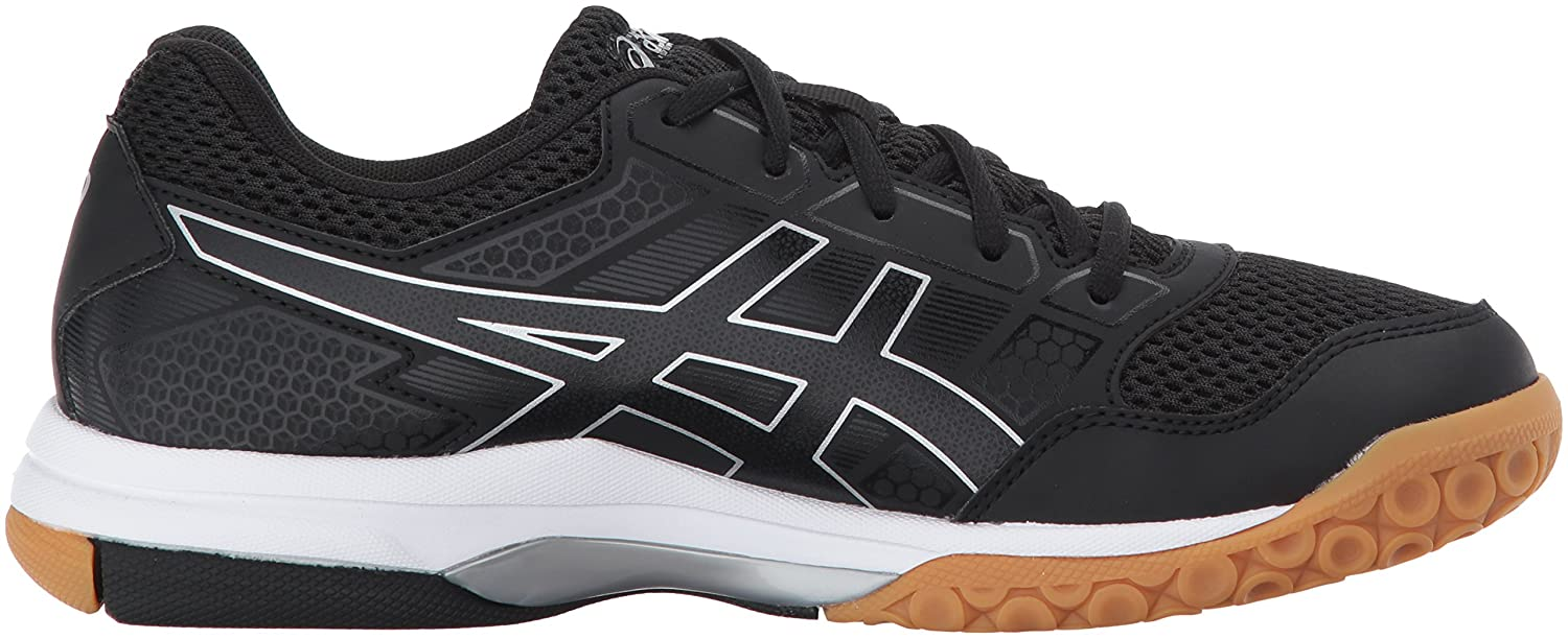 ASICS Women's Gel-Rocket 8 Volleyball US|Black/Black/White Shoe B01N3MAJ3K 12 B(M) US|Black/Black/White Volleyball 874df5