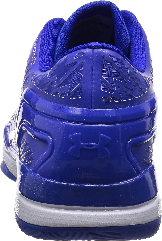 Under Armour Clutchfit Drive Low bleu chaussures de basketball homme