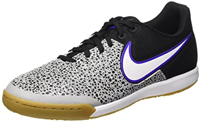 Nike Men's Magistax Pro IC Soccer Shoe (8.5, Wolf Grey/White-Blk