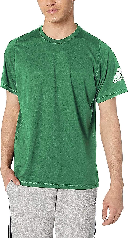 adidas Men's FreeLift Sport Ultimate Regular Fit AEROREADY Training Workout Fitness Gym Short Sleeve T-Shirt: Clothing