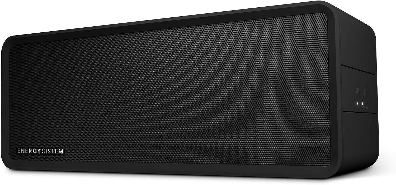 Energy Sistem Music Box 9 -UK Version Altavoz portatil Bluetooth (Bluetooth, True Wireless Stereo, Manos Libres, 40W, USB, microSD, Radio FM, Entrada de Audio)- Negro