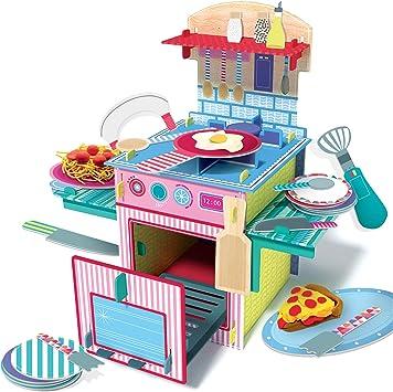 Headu La Mia Prima Cucina Montessori Giochi Educativi Multicolore It21468 Amazon It Giochi E Giocattoli