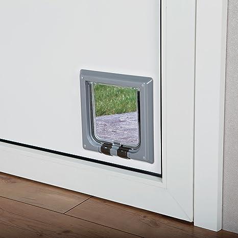 Puerta para gatos TRIXIE Gatera para puertas 4 posiciones