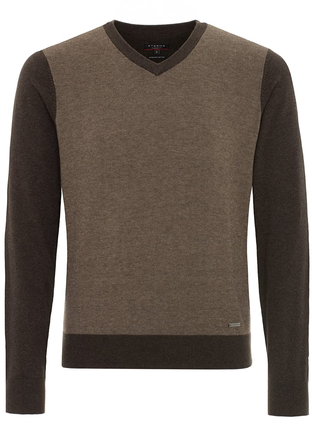ETERNA Men's Sweaters for men, dark brown