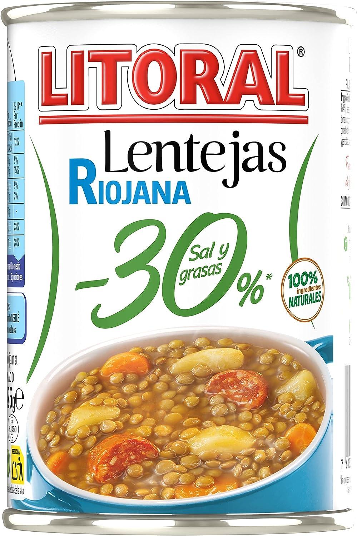 Litoral Lentejas Riojana 30 %, 425g