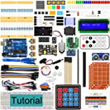 Freenove Ultimate Starter Kit with UNO (Compatible with Arduino IDE) (Blue Board), 273 Pages Detailed Tutorial, 217 Items, 51 Projects, Learn Programming and Electronics