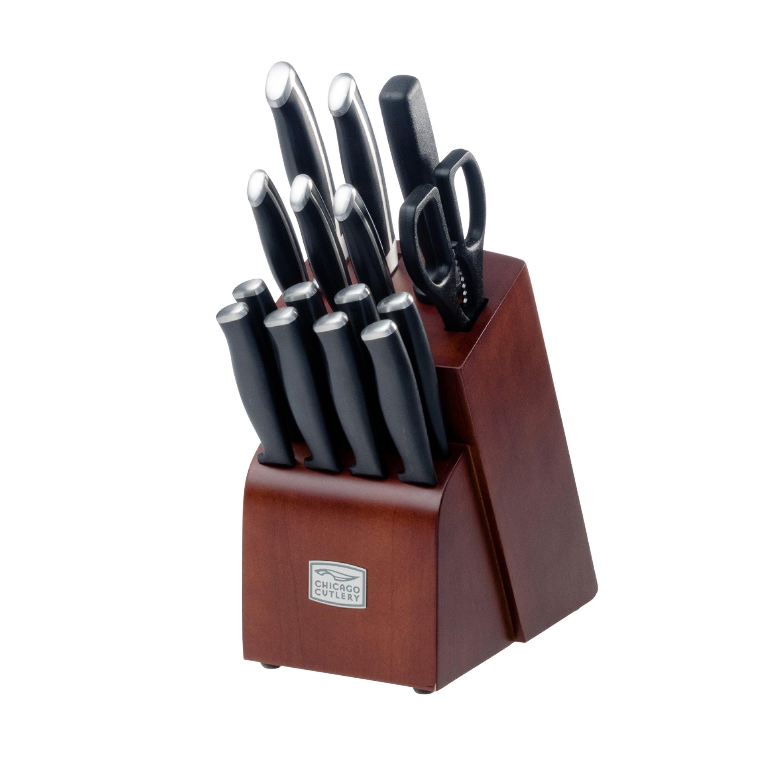 Chicago Cutlery Kitchen Belmont  Pc Block Set
