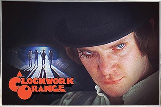 Amazon.com: Un grupo de Clockwork Orange – Póster de (36 x ...
