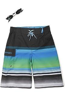 ZeroXposur Boys Wipe Out Swim Trunk Shorts