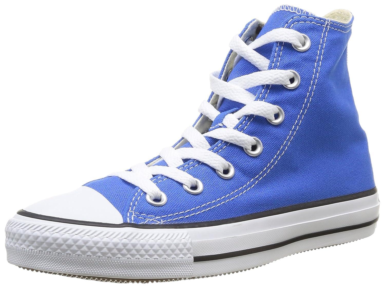 Converse Unisex-Erwachsene Chuck Taylor All Star-Hi High-Top, Schwarz  39 EU|Blau