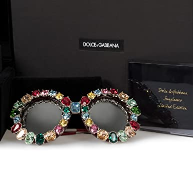 a04a03f6243 Image Unavailable. Image not available for. Colour  Dolce   Gabbana Limited  Edition Round Sunglasses ...