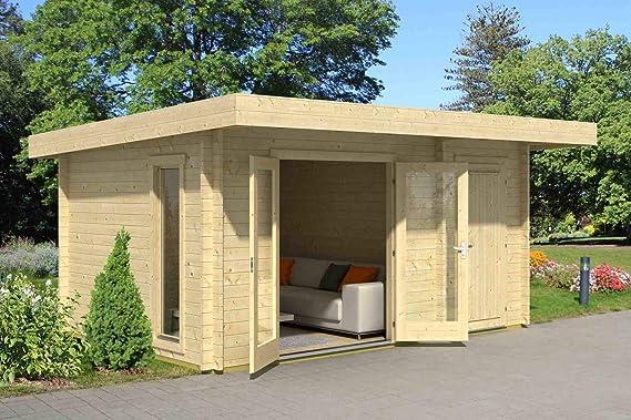 Lasita Maja Chameleon 44 I - Caseta de jardín (grosor de la pared: 44 mm): Amazon.es: Bricolaje y herramientas