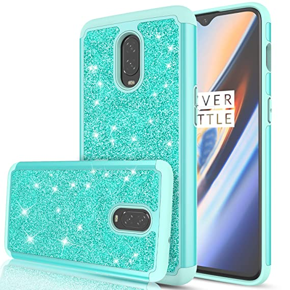 the latest 0da2a 41ddc OnePlus 6T Case, OnePlus 6T McLaren Case for Girls Women, LeYi Glitter  Bling Sparkle Dual Layer Hybrid Shockproof Protective Phone Case for  OnePlus 6T ...