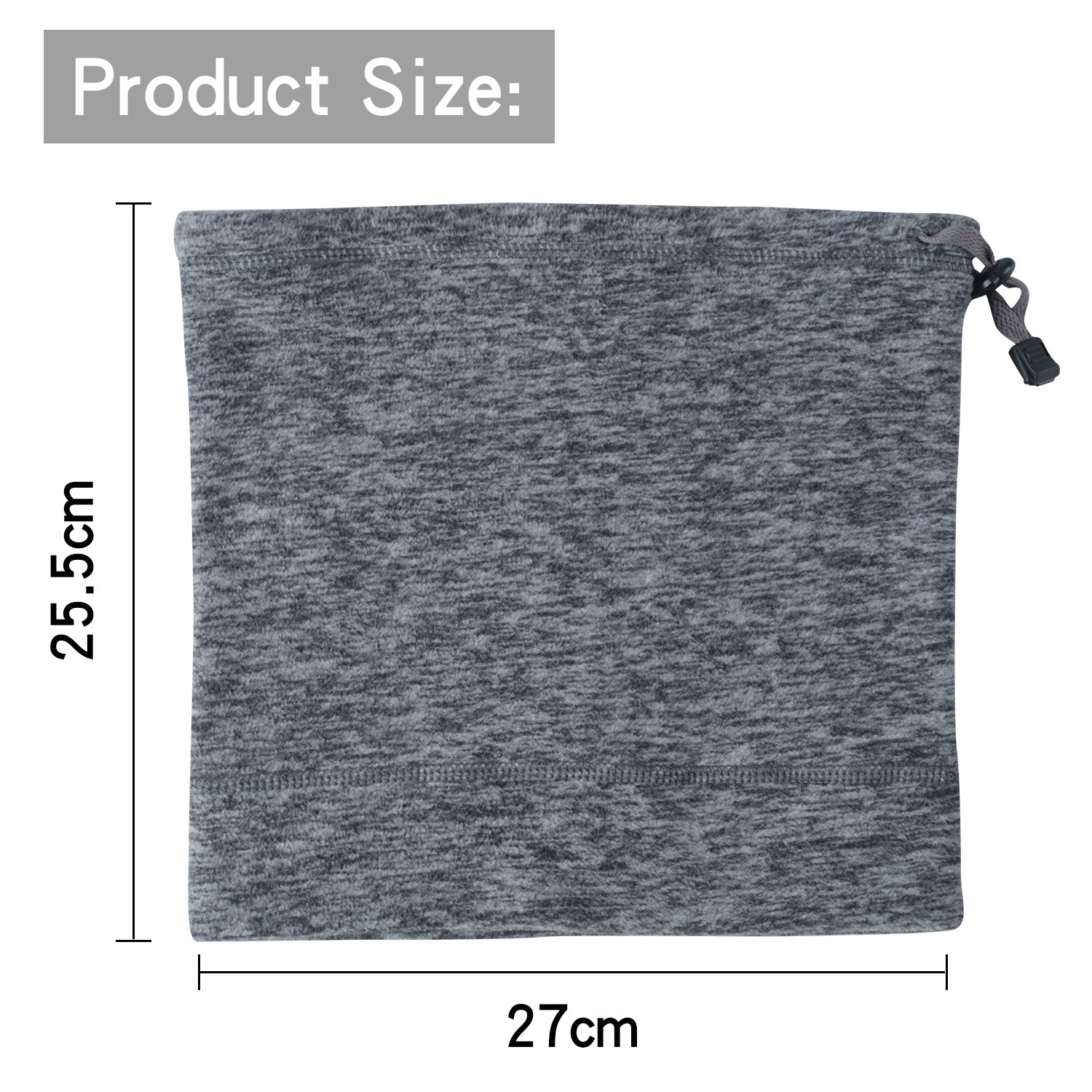 THINDUST 1 or 2 Pack Fleece Neck Warmer Soft Guangzhou yuzhong Fishing Articles Co Adjustable Neck Gaiter Winter Cold Weather Ski Face Mask Ltd