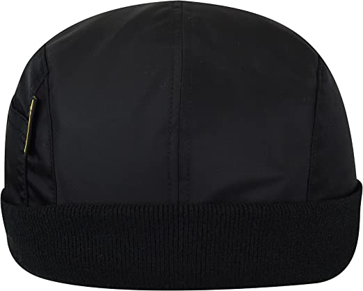 Kangol - Gorra de piloto con puño Plano para Hombre Negro (XL ...