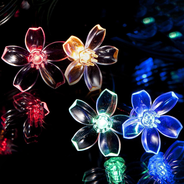 SPV Lights - Guirnalda de Luces solares con Luces LED (100 ...
