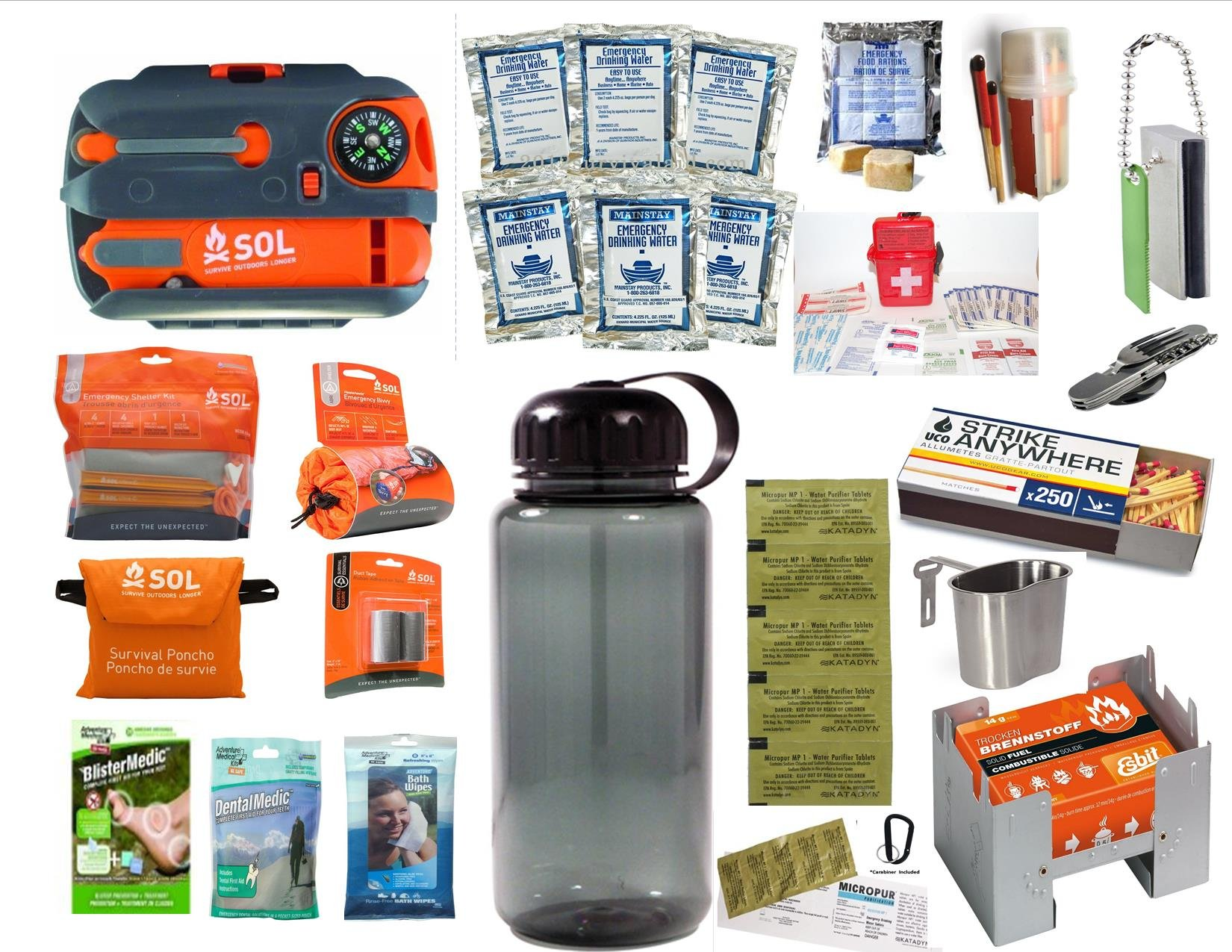 READI USA AMK/SOL SURVIVAL ESSENTIALS KIT