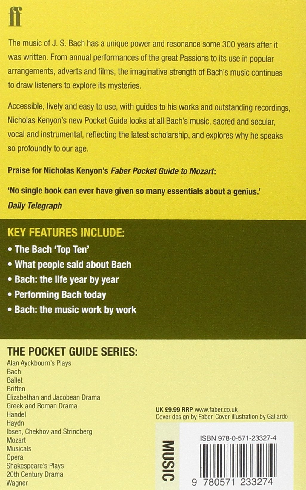 Customer Reviews: The Faber Pocket Guide to Handel