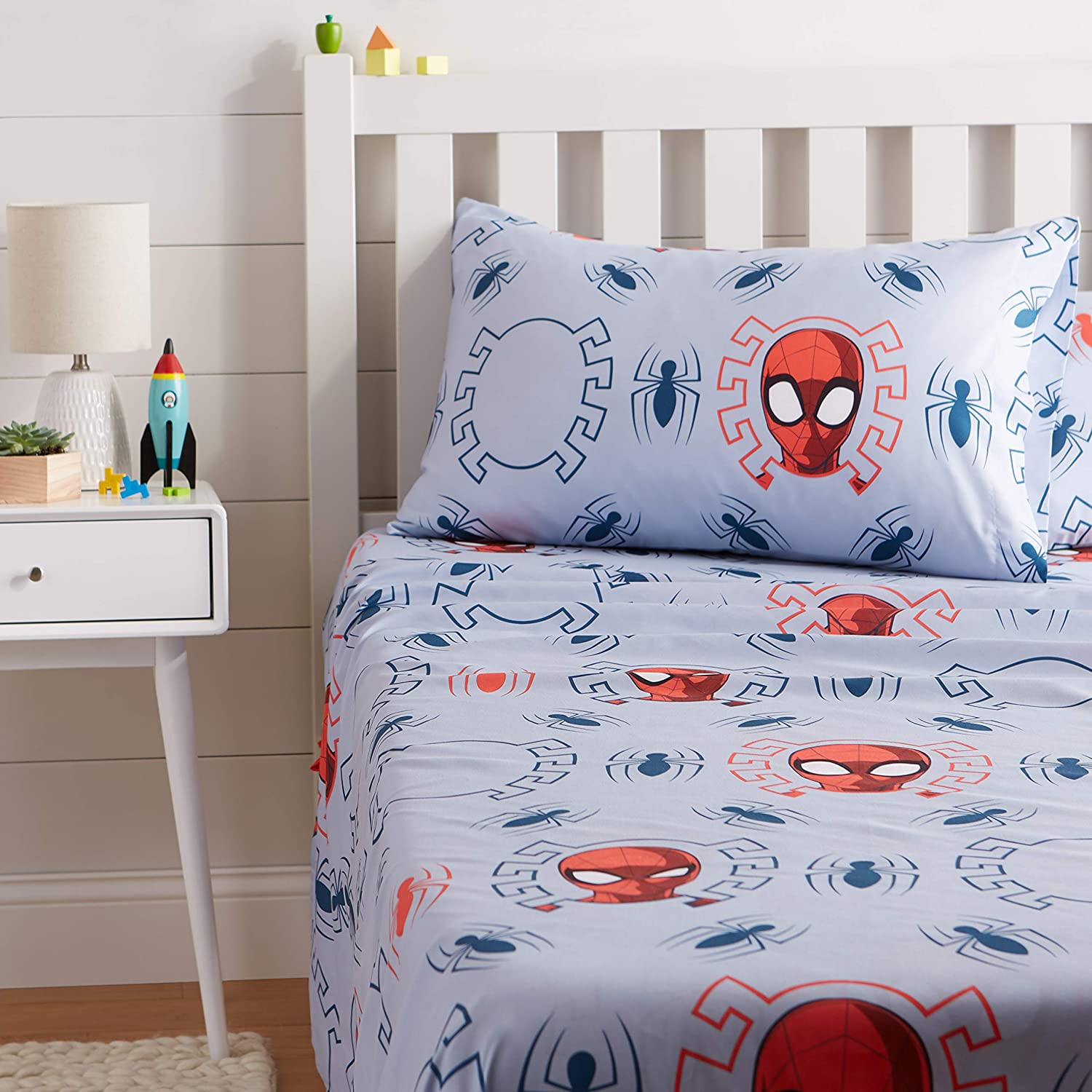 Marvel Spiderman Kids Bed Sheet Set
