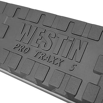 Westin 21-54005 Black 5 Pro Traxx Oval Step Bar