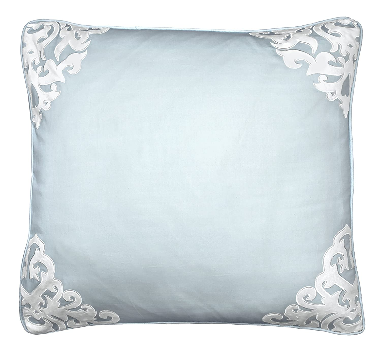 """Beautyrest Throw Pillow Covers - Arlee Decorative Pillow Cases Euro Sham for Sofa Couch Bedroom Living Room, 26"""" x 26"""", Spa"""