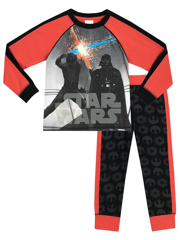 Star Wars - Pijama para Niños - Star Wars - Brillan En La Oscuridad: Amazon.es: Ropa y accesorios