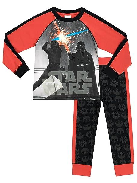 Star Wars - Pijama para Niños - Star Wars - Brillan En La Oscuridad - 11