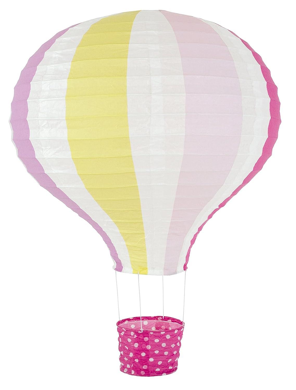 JaBaDaBaDo Lampenschirm Ballon pink Heißluftballon Kinderzimmerlampe Papierlampenschirm Lampe Papier