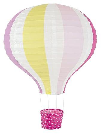 Jabadabado Lampenschirm Ballon Pink Heissluftballon