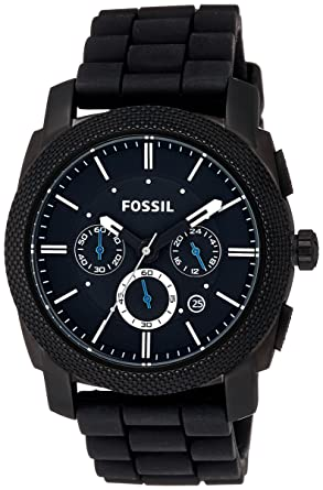 577be6fe3ab Buy Fossil Machine Chronograph Black Dial Men s Watch - FS4487 ...