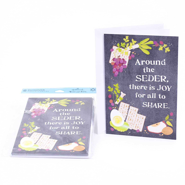 Amazon Hallmark Tree Of Life Passover Greeting Card Shalom