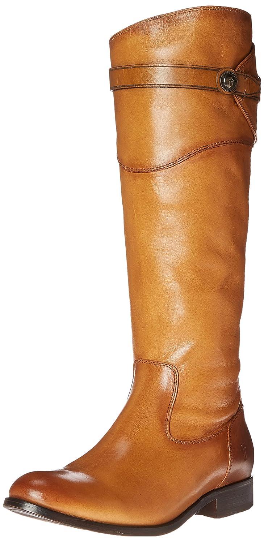 Frye Women's Molly Tall-SMVLE Button Tall-SMVLE Molly Riding Boot B00R5513RW 9 M US|Tan 23736d