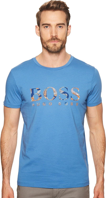 Hugo Boss Mens Tee 7 Boss Logo Print T-Shirt