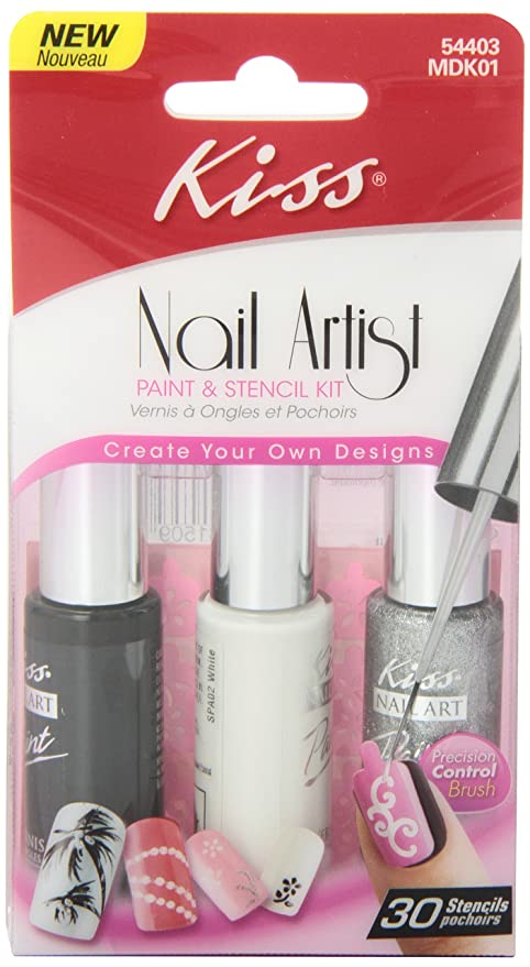 Kiss Nail Artist Manicure Design Kit, Gala: Amazon.ca: Beauty