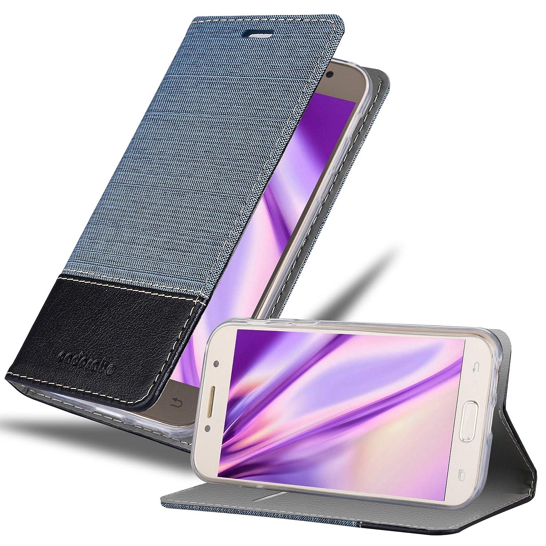 Cadorabo Funda Libro para Samsung Galaxy A5 2017 en Azul Oscuro ...