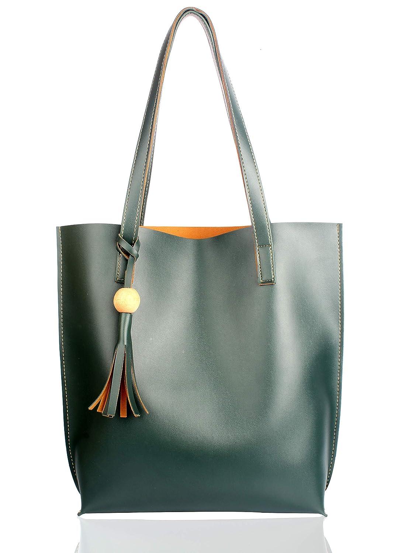 Mammon Women's Handbag (plain-green,35x35 Cm)