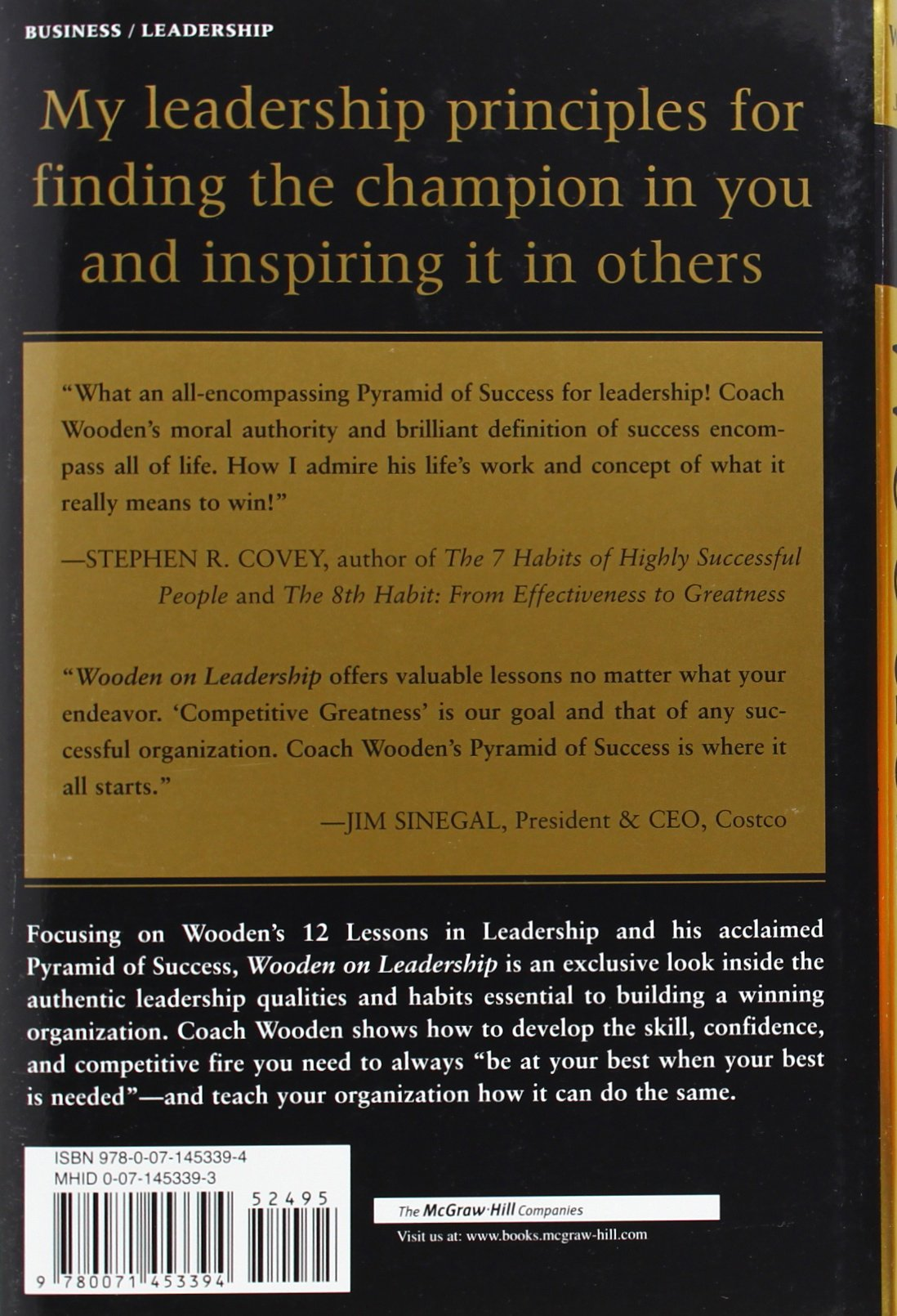 wooden on leadership how to create a winning organization john wooden on leadership how to create a winning organization john wooden steve jamison 8580001072067 amazon com books