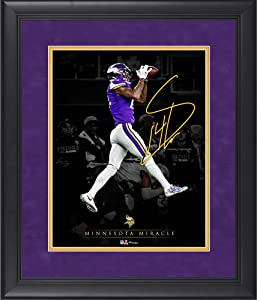 Stefon Diggs Minnesota Vikings Framed 11