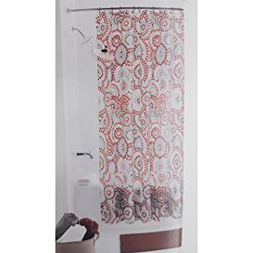 Mainstays Shower Curtain Rug Bath Set