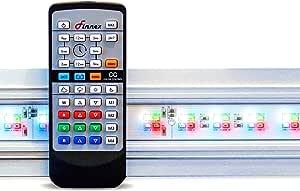 Finnex Planted+ 24/7 HLC Aquarium LED Light, Automated Full Spectrum Fish Tank Light, 30 Inch