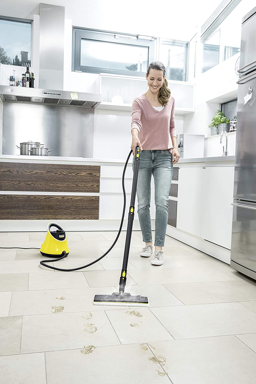 Karcher (KAER5) 1.513 243.0 Steam Cleaner, 1500 Watt, SC 2 Deluxe Easyfix:  Amazon.co.uk: DIY & Tools