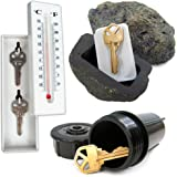 Stalwart Hide a Key Set - Includes Rock, Thermometer and Sprinkler
