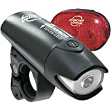 HIAEFIRE Q5 CREE 240 Lumen LED Bike Bicycle flashlight Torch +1 x Bicycle Holder +3 AAA batteries + dual charger