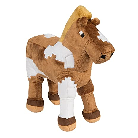 Amazon Com Svitlife Horse Minecraft Plush Plush Minecraft Toy New
