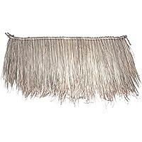 Palmera techo 150 x 60 cm panel de Palm Natural techo palmera Hierba paja techo schindel